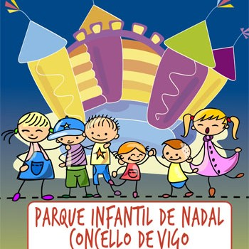 Parque Infantil de Nadal CONCELLO DE VIGO cartel
