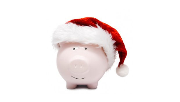cerdito ahorro navidad