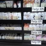 Calvario: panties al 50%