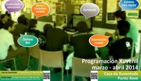 Programación Marzo Abril 2014 Xuventude vigo