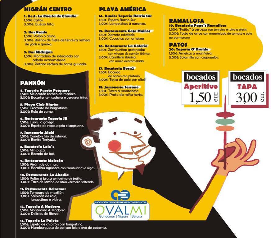 concurso gastronómico bocados nigran PEQ