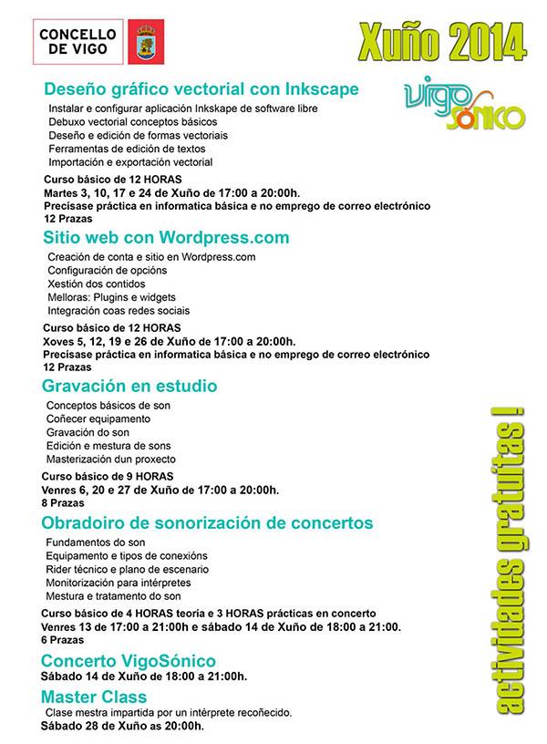 Vigo Sonico Xuño 2014
