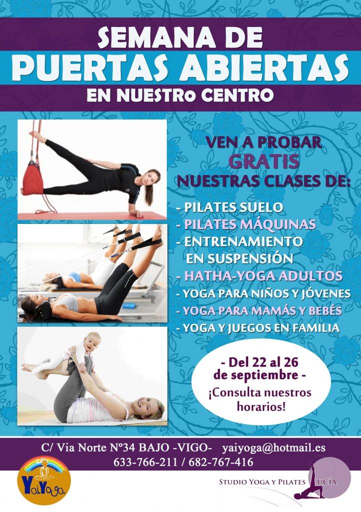 Jornada de puertas abiertas con clases gratis @ Studio Yoga y Pilates Lucía, Vigo | Vigo | Galicia | España