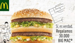 big mac gratis mc donalds
