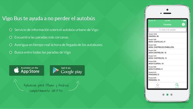 aplicación app vigo vitrasa android ios vigobus