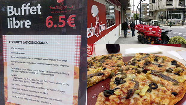 buffet libre pizza fresh vigo low cost portada
