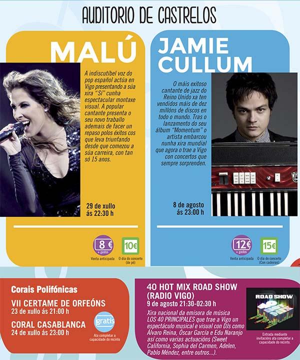 Conciertos de verano @ Vigo | Vigo | Galicia | España