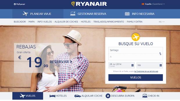 nueva web ryanair