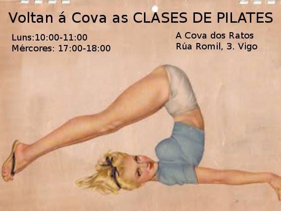 Clases de pilates @ A Cova dos Ratos, Vigo | Vigo | Galicia | España