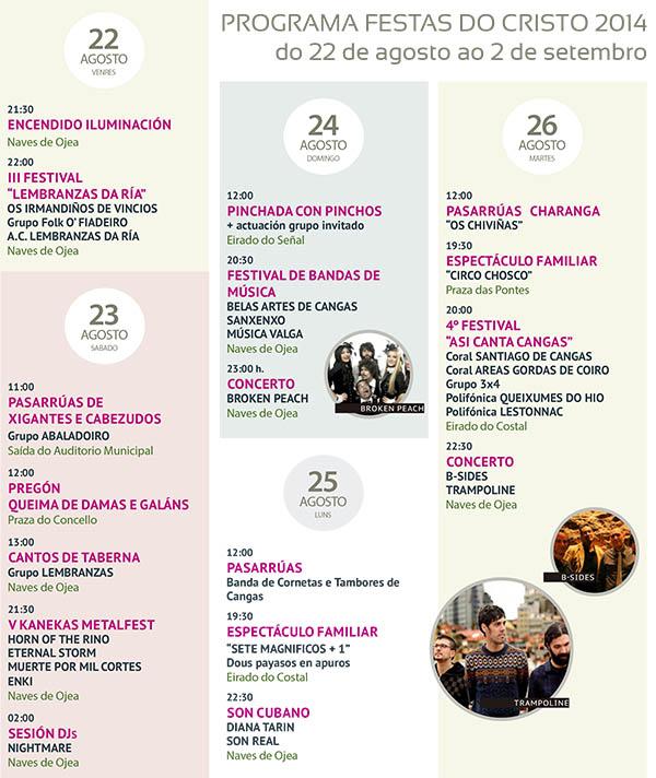 Festas do Cristo 2014 @ Cangas do Morrazo | Cangas de Morrazo | Galicia | España
