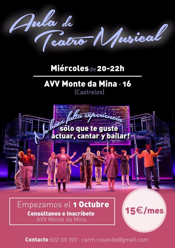Aula Teatro Musical AVV Monte da Mina