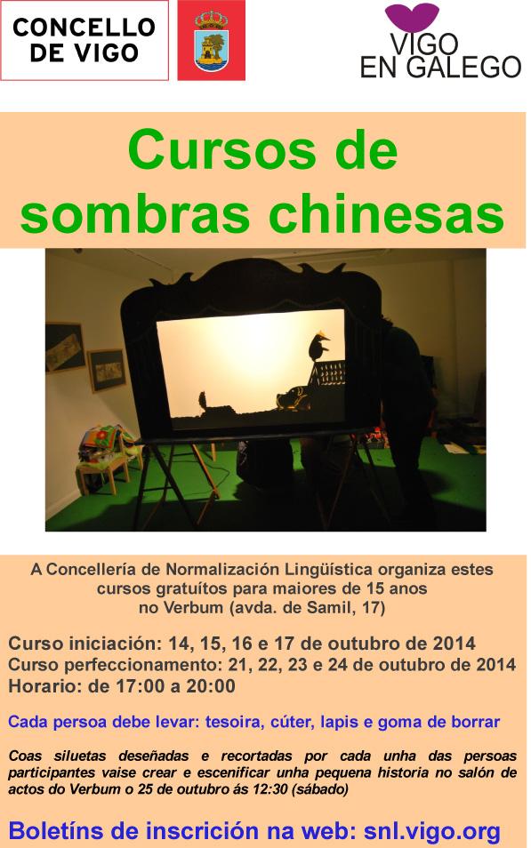Curso de Sombras Chinesas @ Verbum, Vigo | Vigo | Galicia | España
