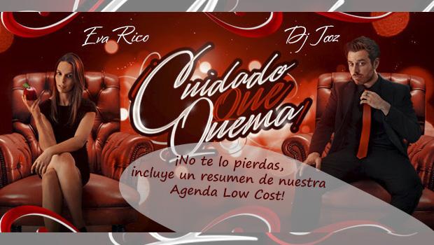 cuidado que quema via radio cartel promocional 2014 vigo low cost