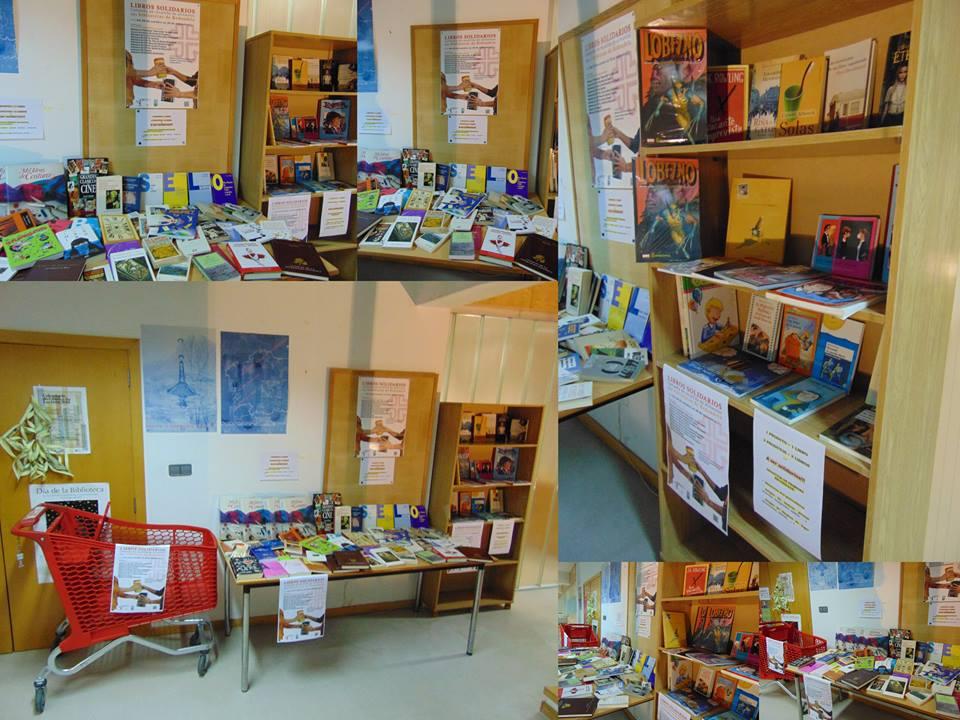 Libros solidarios, campaña de recollida de alimentos @ Bibliotecas de Redondela | Redondela | Galicia | España
