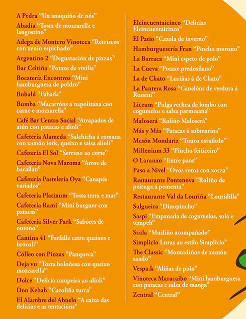 IX Xornadas de degustación de pinchos @ Porriño | O Porriño | Galicia | España