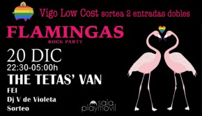 flamingas party sorteo vigo low cost