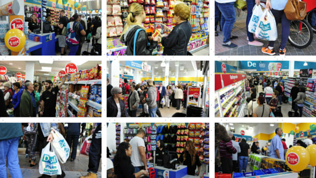 dealz supermercado todo a 150 madrid