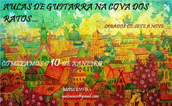 Aulas de guitarra @ A Cova dos Ratos, Vigo | Vigo | Galicia | España